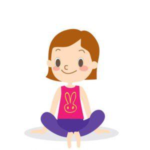posture de yoga pour enfant